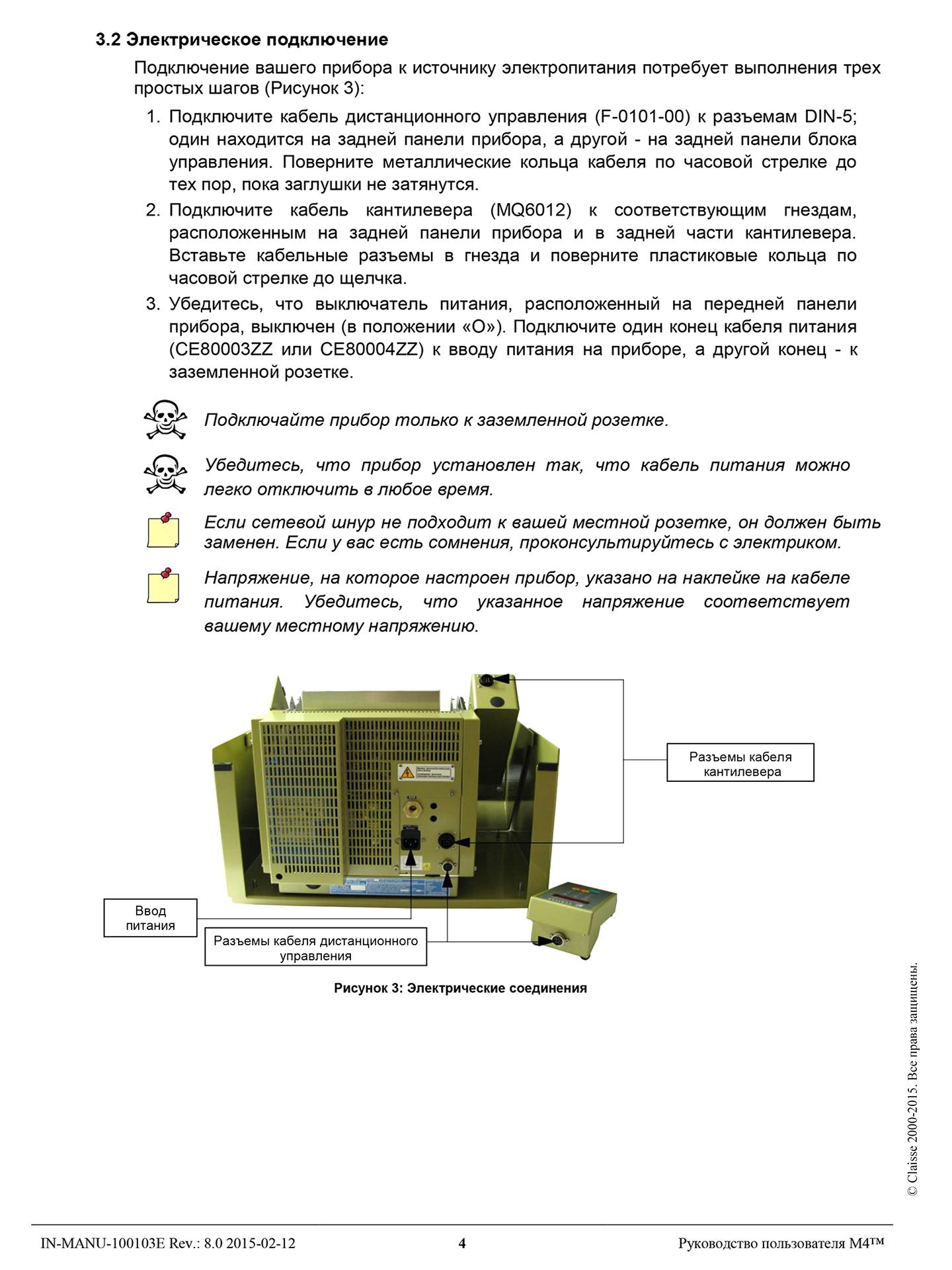 Технический перевод инструкция